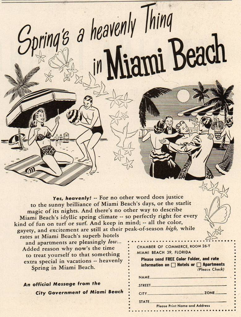 Travel Ads 1950 14