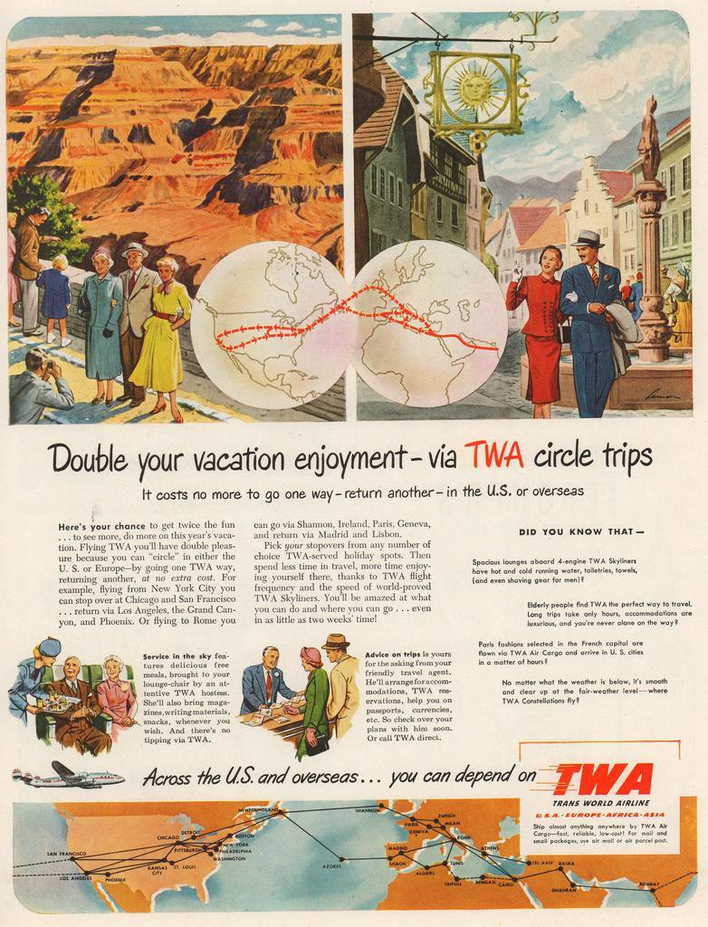 Travel Ads 1950 15