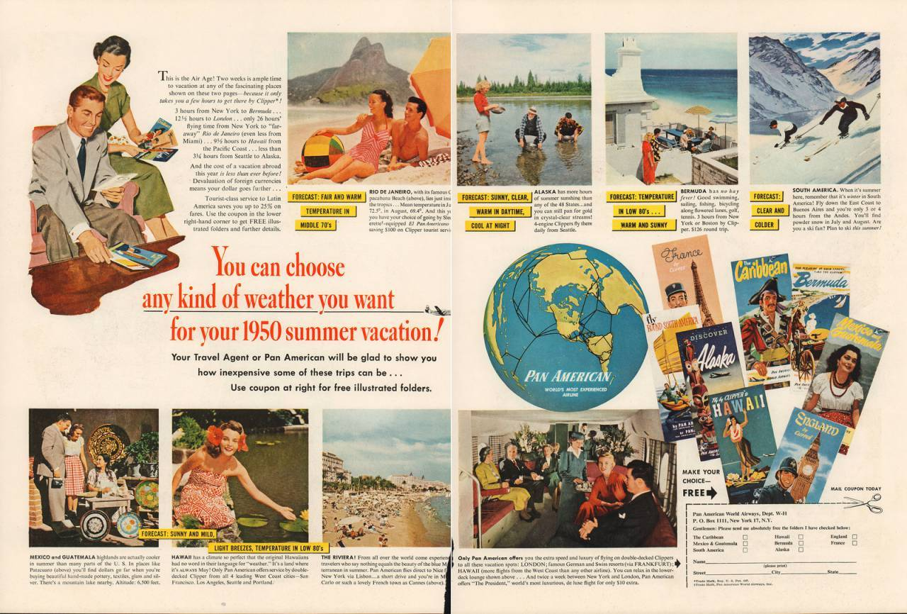 Travel Ads 1950 18