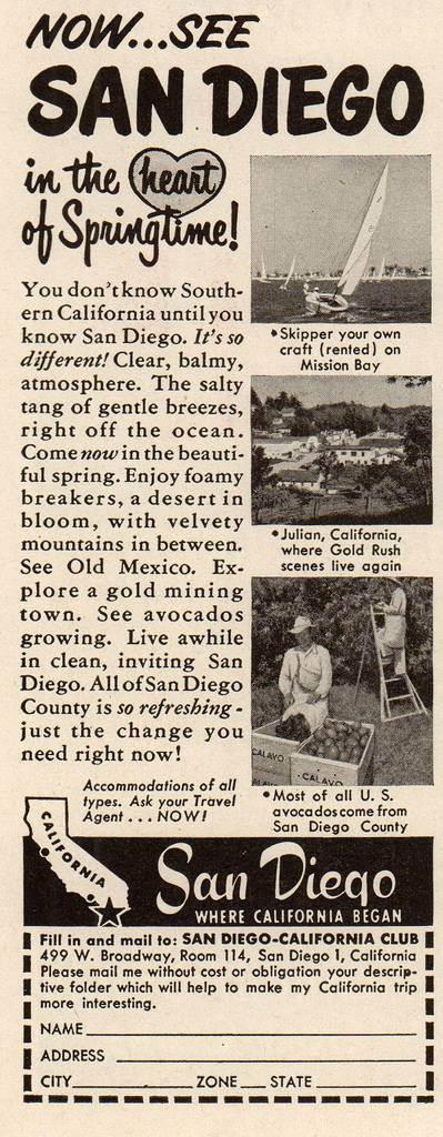 Travel Ads 1950 3