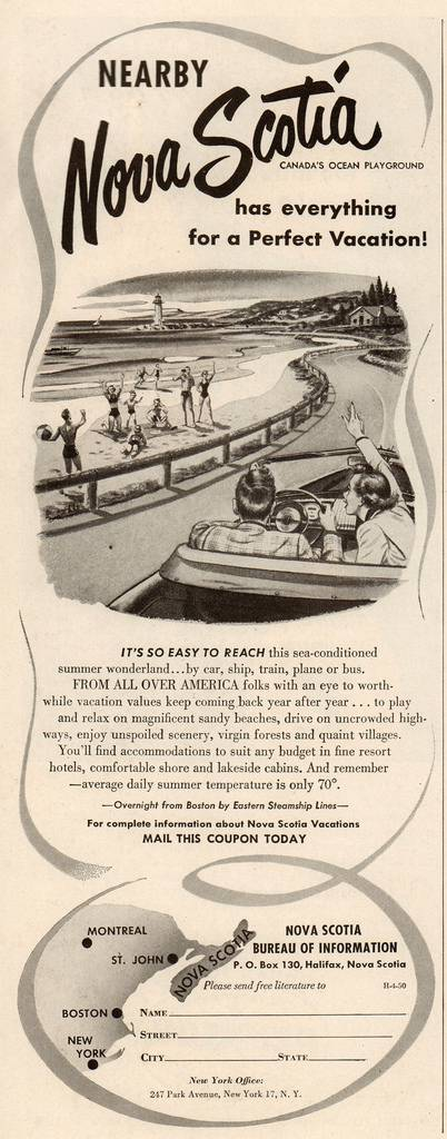 Travel Ads 1950 4