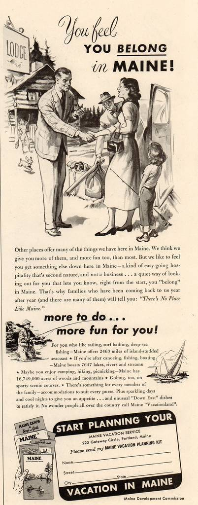 Travel Ads 1950 8