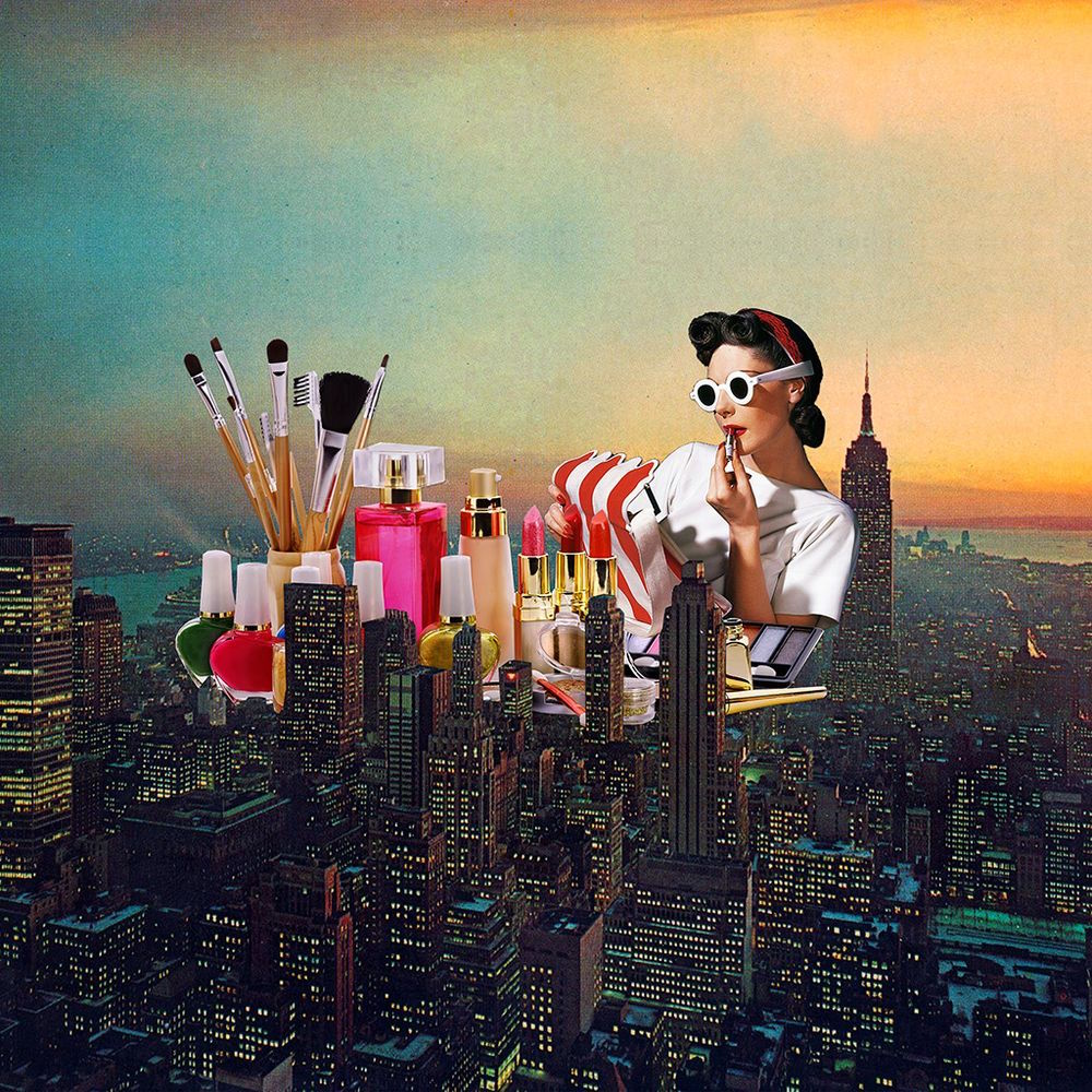The Age Of Collage Eugenia Loli S Surreal Time Shifts