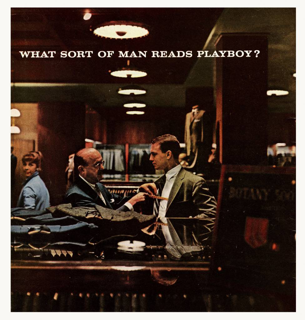 What Sort of Man Reads Playboy? 1958 11