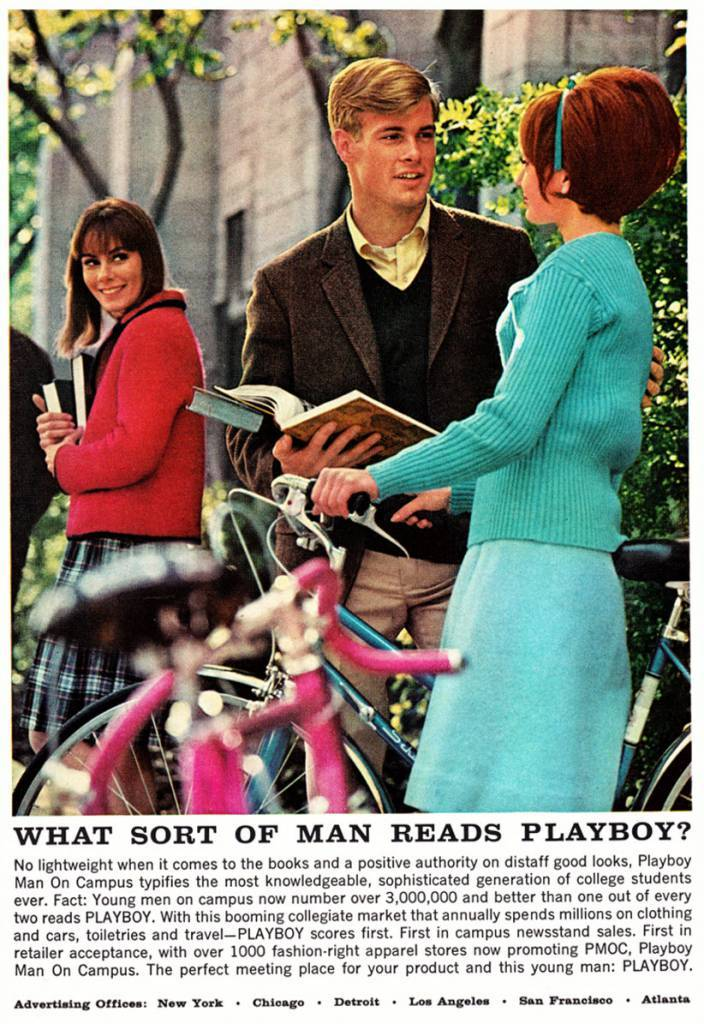 What Sort of Man Reads Playboy? 1965 3