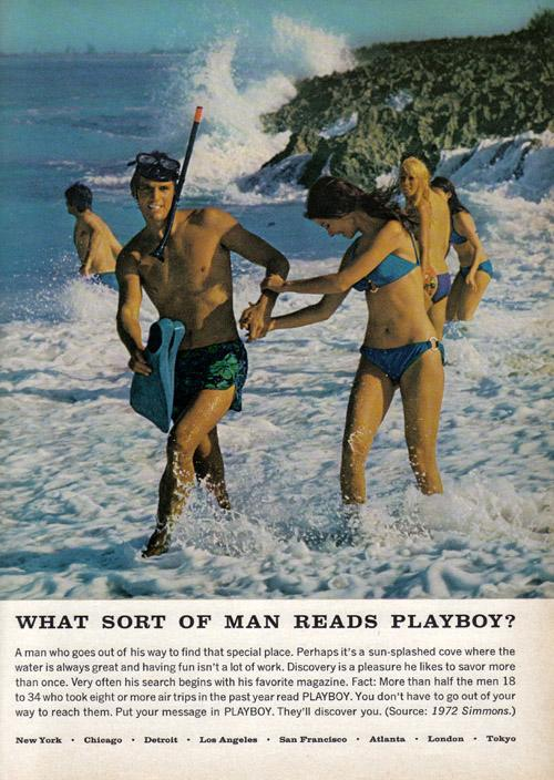 What Sort of Man Reads Playboy? 1973 6