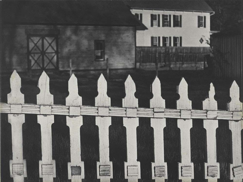 White_Fence_Port_Kent_New_York_1916_by_Paul_Strand__Paul_Strand_Archive_Aperture_Foundation