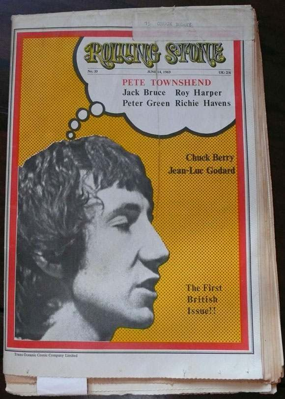 York Doll Jerry Nolan's advert in Rolling Stone June 14 1969 1