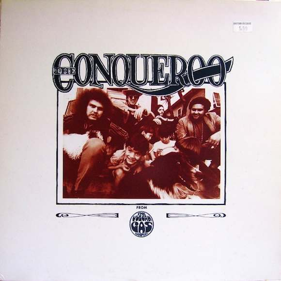 Front cover, From The Vulcan Gas Company, The Conqueroo, 1968/reissued 1987 on 5 Hours Back