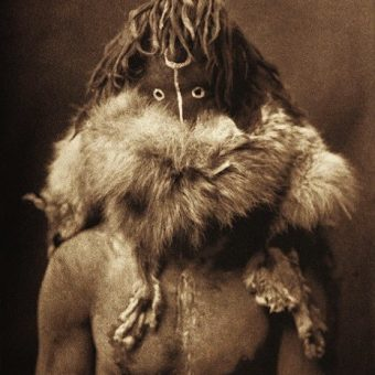 Fantastic Photographs Of North American Indians In Ceremonial Masks (1905-1915)