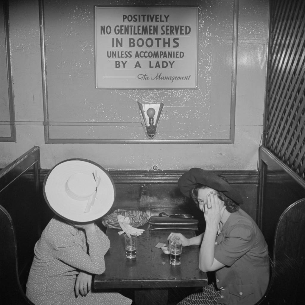 O'Reilly's bar New York City 1942