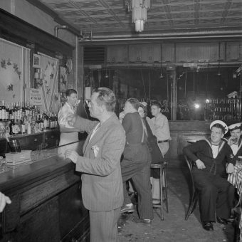 One Night At O'Reilly's New York Bar In 1942