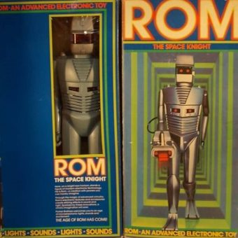 From Outer Space to Your Toy Store: Rom the Space Knight (Parker Bros, 1979)