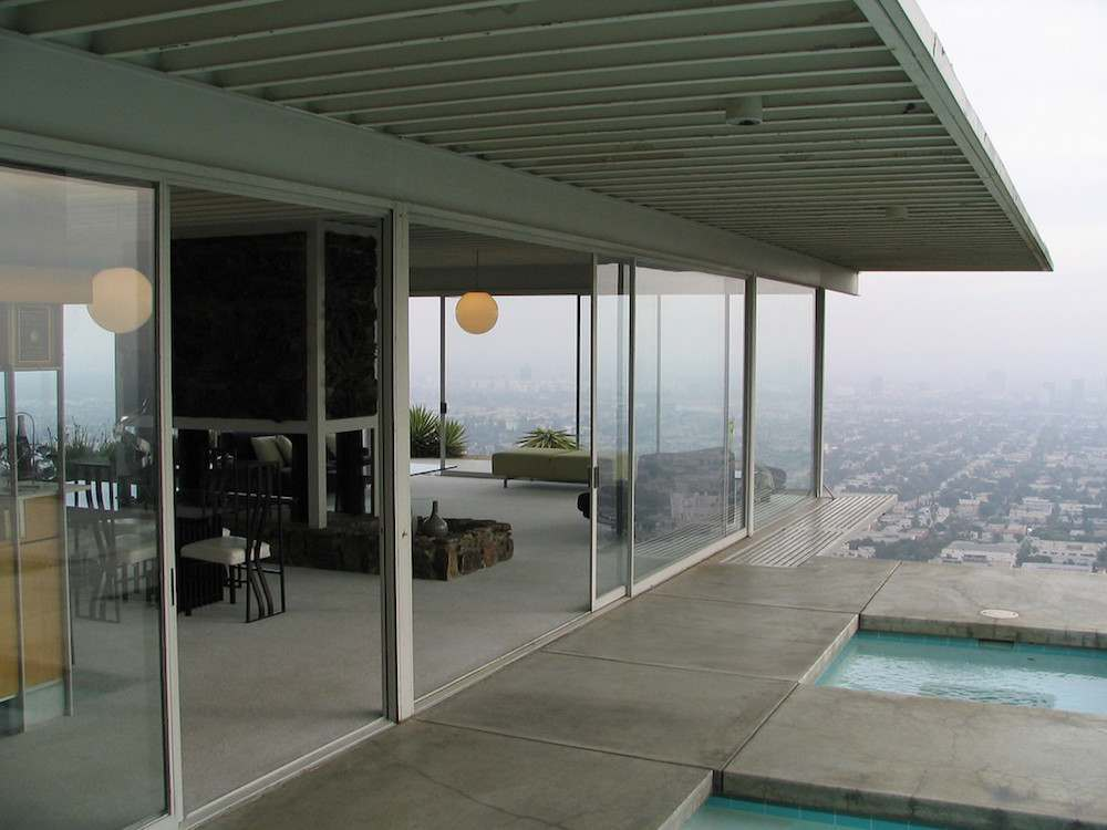 Touching the mid century dream in pierre koening 39 s stahl - Interior design school los angeles ...
