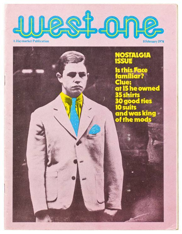 Front cover, West One magazine, February 1974.