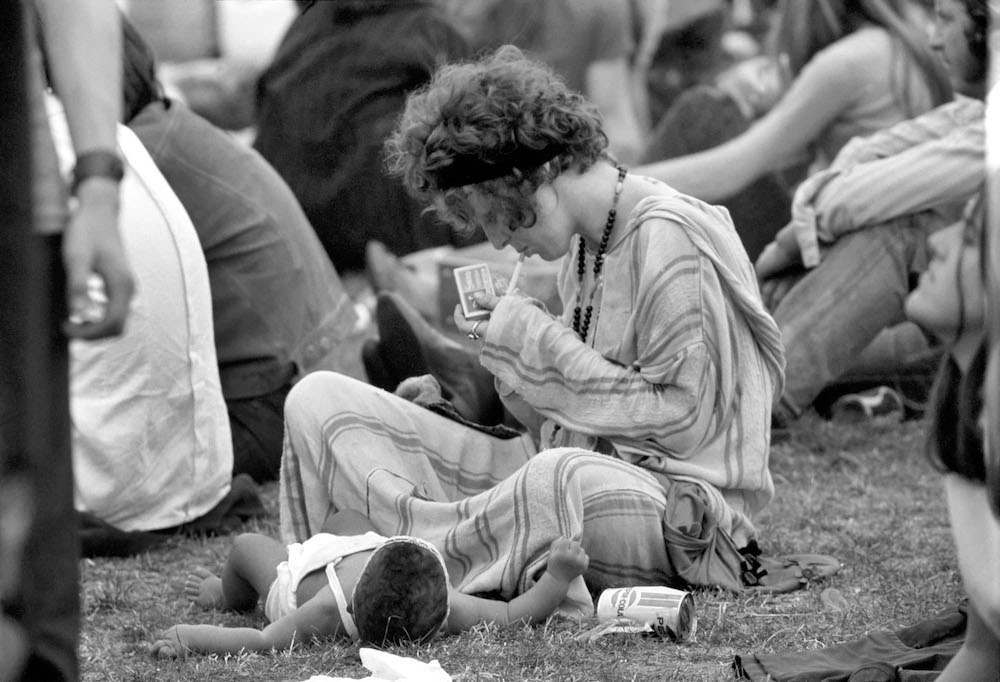 Hyde Park Pop Festival. July 1970