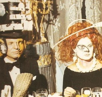 An Invitation To Browse Photos Of Marie-Helene de Rothschild's Surrealist Ball (1972)