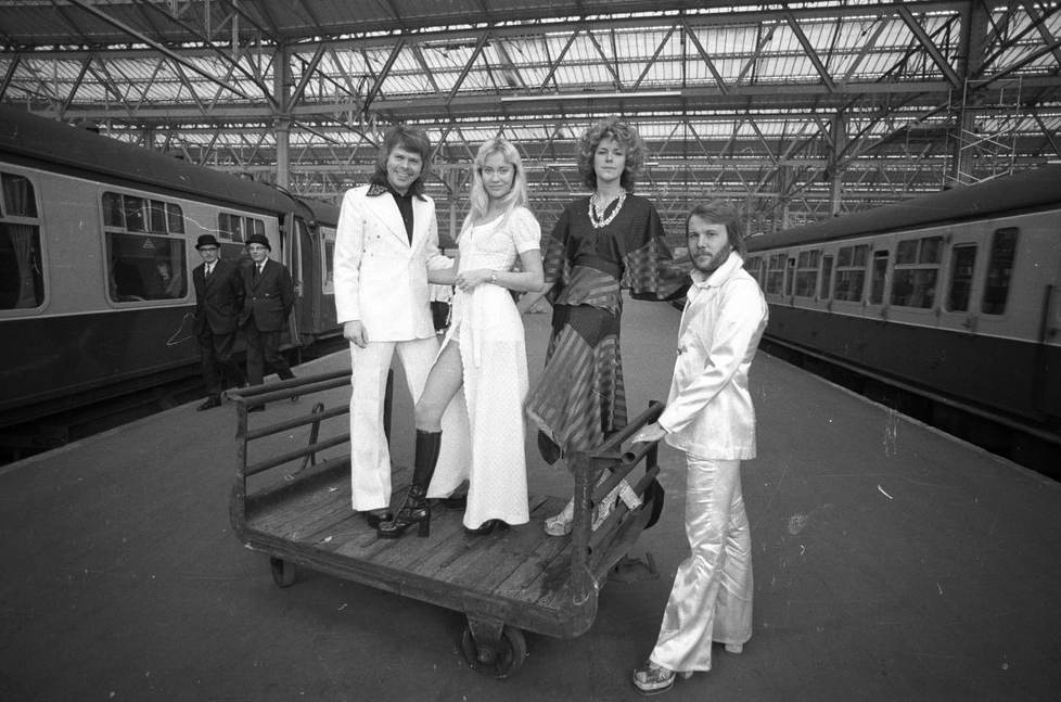 Abba at Waterloo in 1974