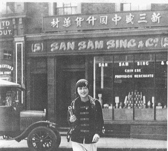 Anna May Wong in Limehouse Causeway 1928