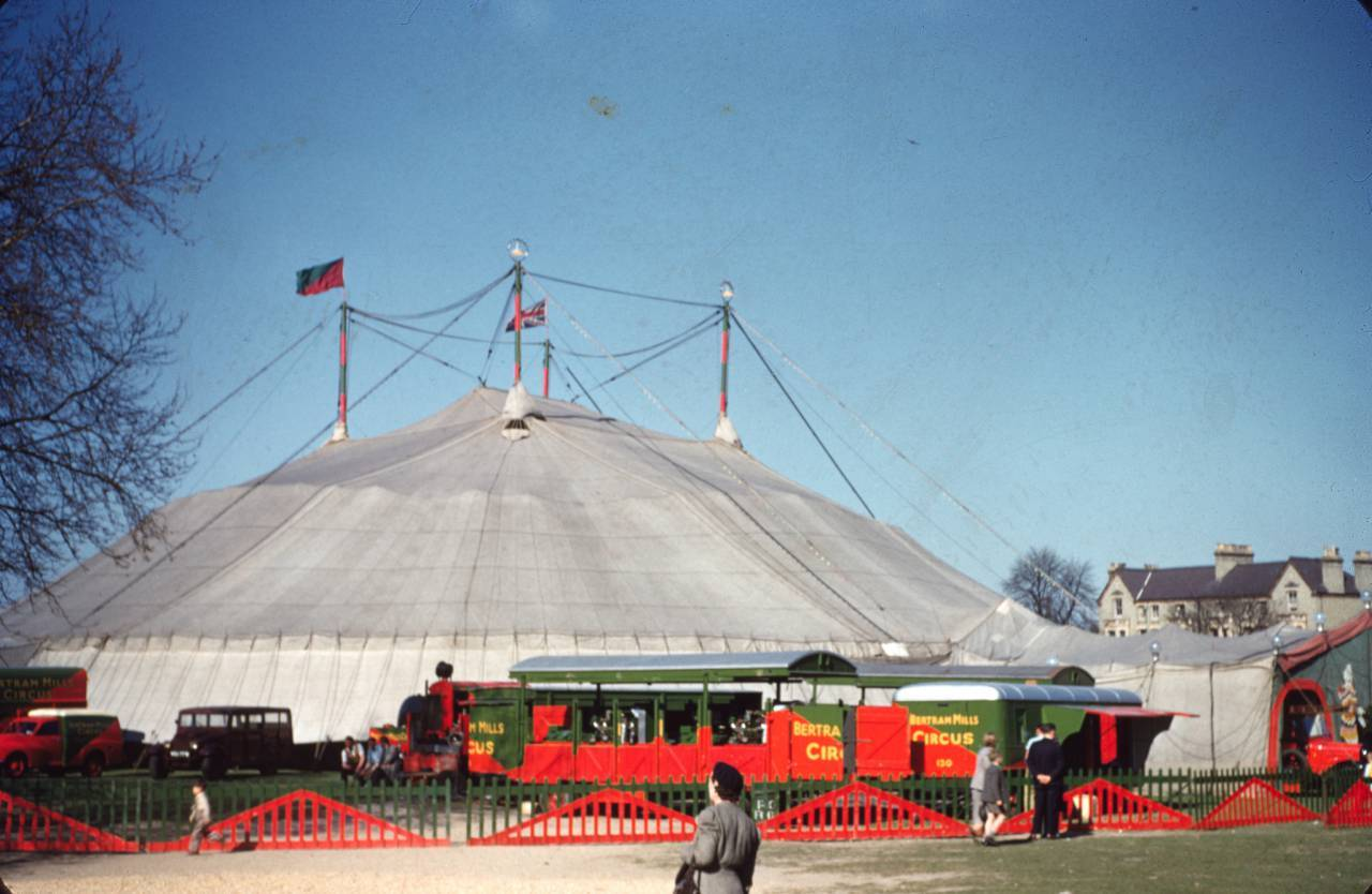 Bertram Mills Circus, Cambridge. Photo by Vern Orton, 1953. Courtesy of Doug Price.
