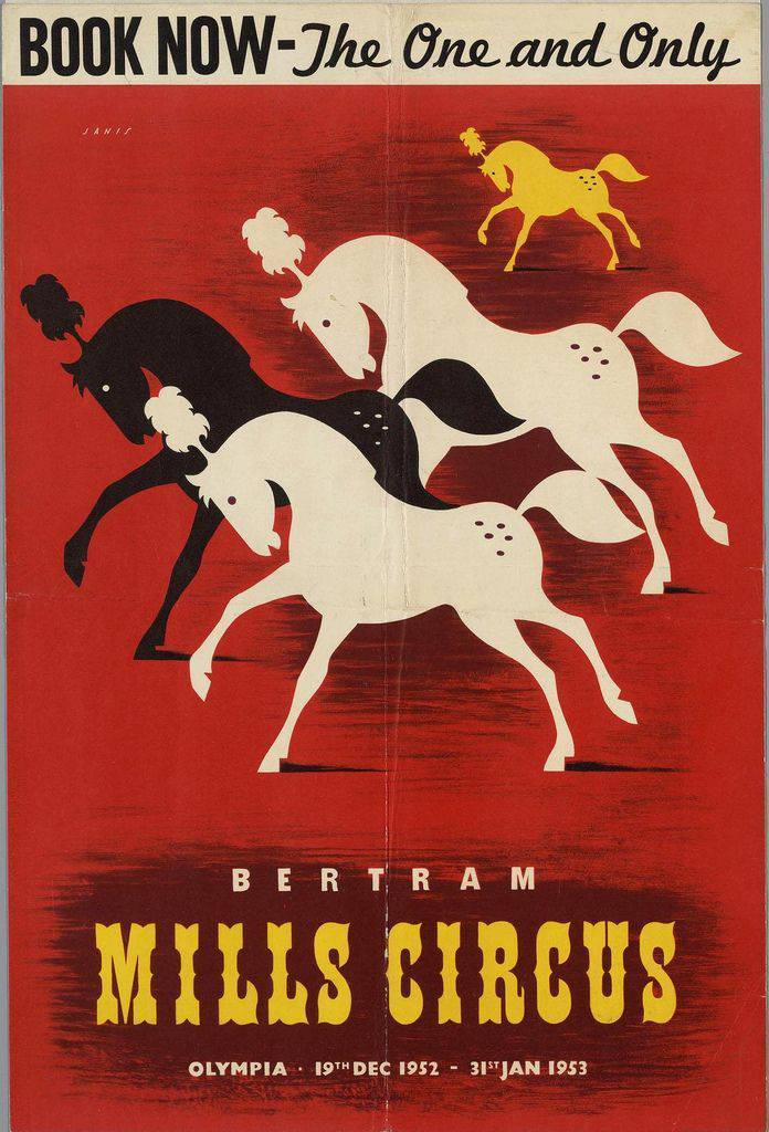 Poster from 1952.