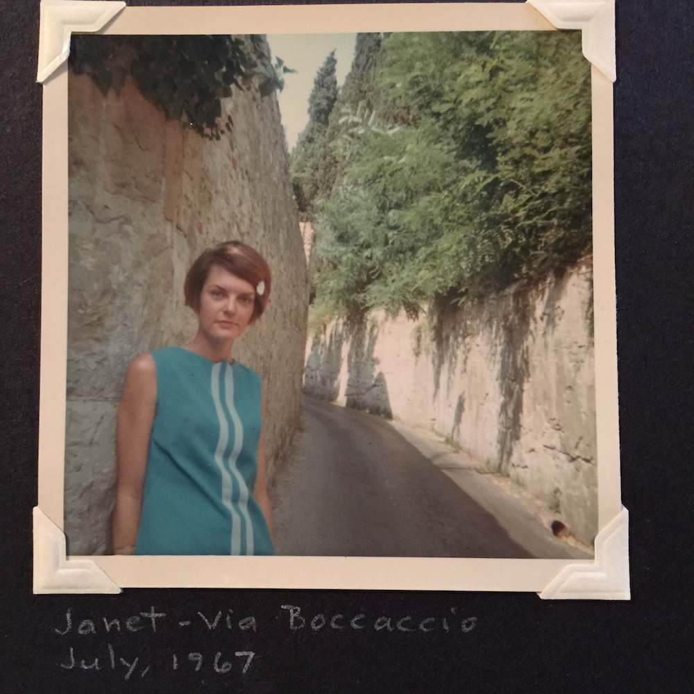 Boccaccio Janet found photos 1960s