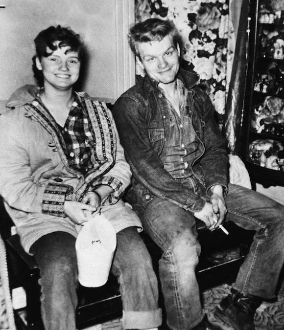 Caril Fugate and Charles Starkweather, 1958