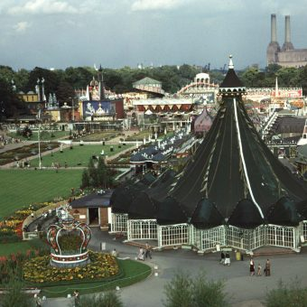 Amazing Colour Pictures of the Festival of Britain in Battersea Park in 1953
