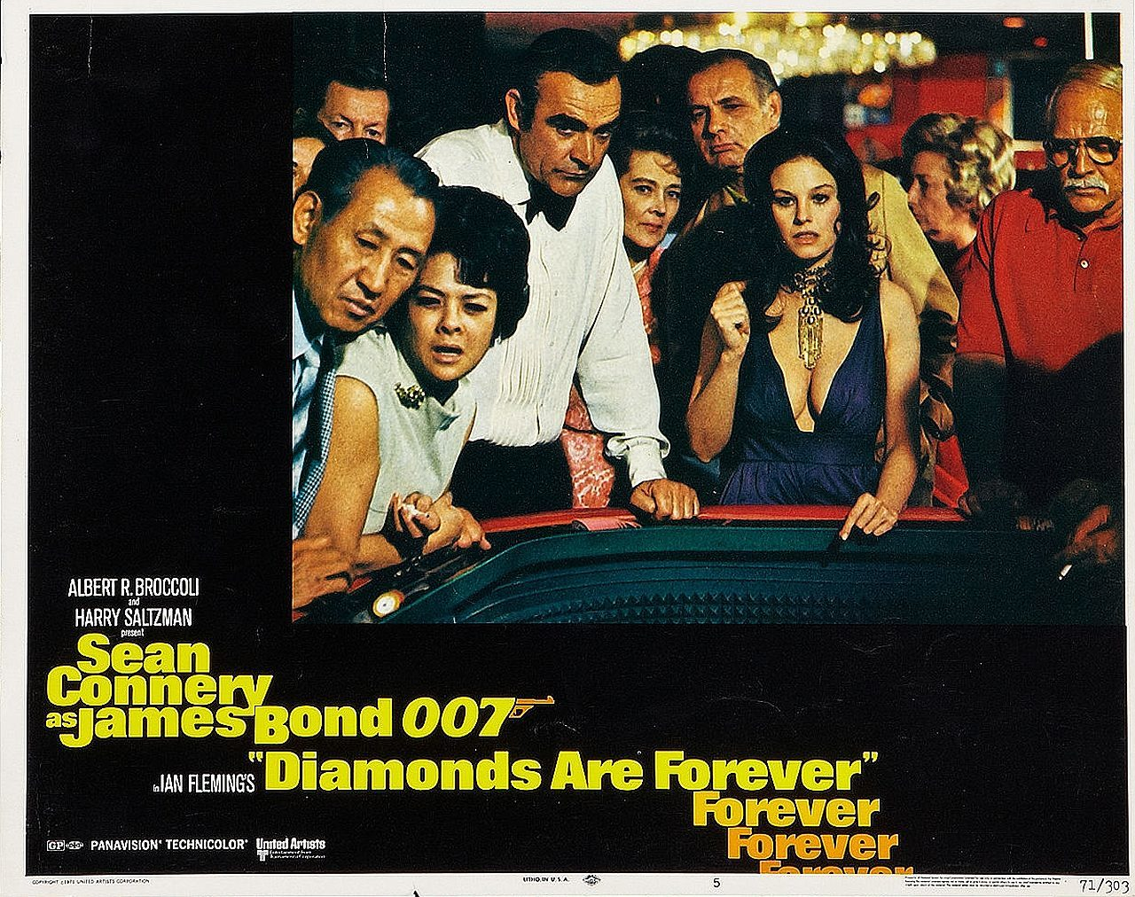 diamonds are forever lobby card 5