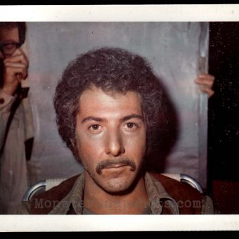Dustin Hoffman's Makeup Continuity Polaroids From 'Who Is Harry Kellerman?'