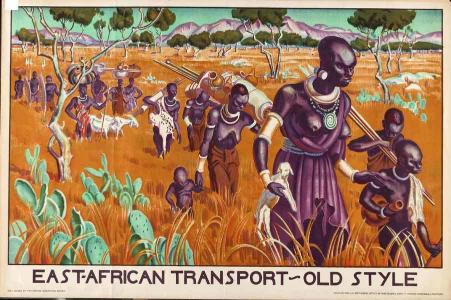 East African Transport Adrian Allinson, 1931