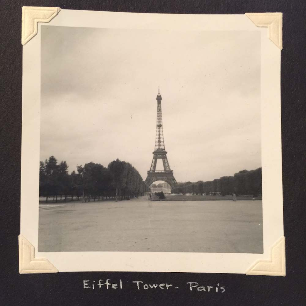 Eiffel Tower Paris Janet found photos 1960s