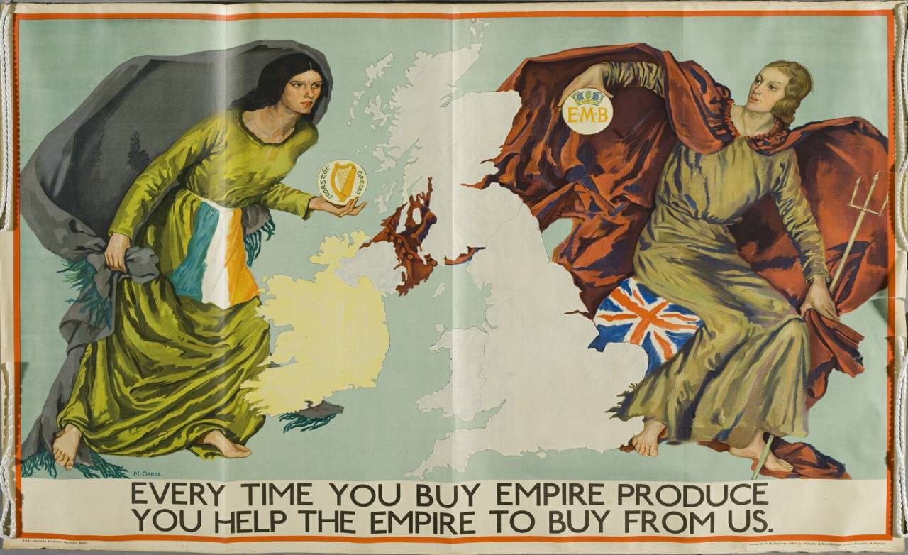 Empire Marketing Board poster c.1930 Margaret Clarke
