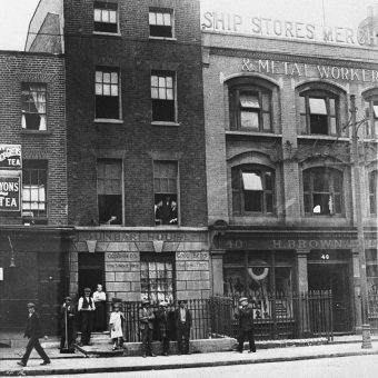London's Old Chinatown in Limehouse and the 'Yellow Peril'