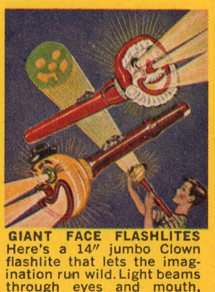 giant face flashlight