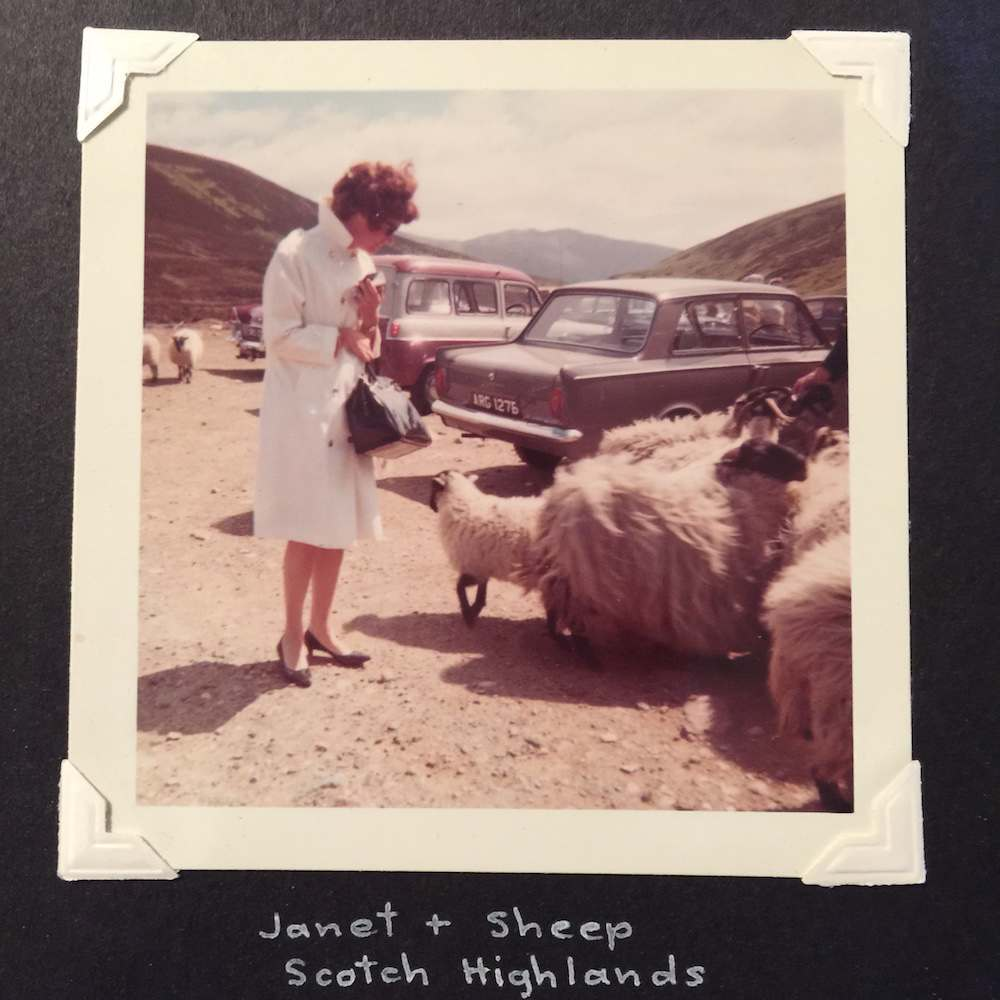 Janet scotland highlands 1960s found photos