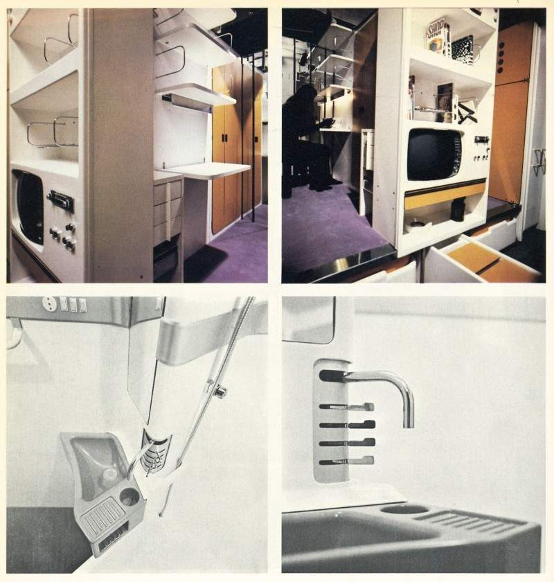 Joe Colombo, Total Furnishing Unit (1971)
