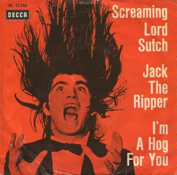 s it appeared on the sleeve of the German-only release of single Jack The Ripper/I'm A Hog For You Baby, 1964