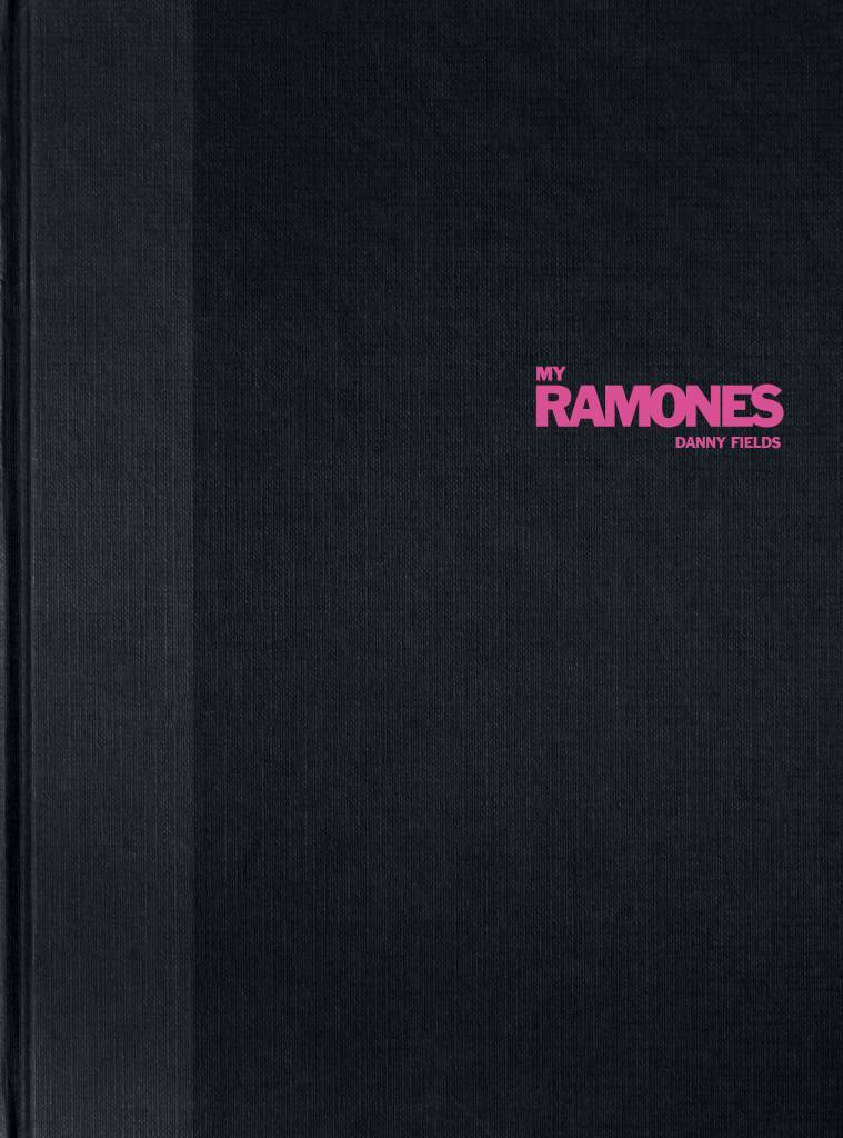 'My Ramones' by Danny Fields, cover. You can buy it from First Third Books. It's amazing!