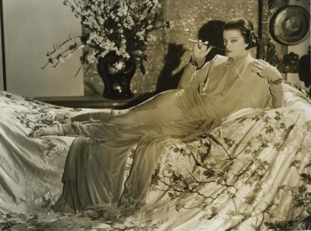 Myrna Loy in the Mask of Fu Manchu, released in 1932
