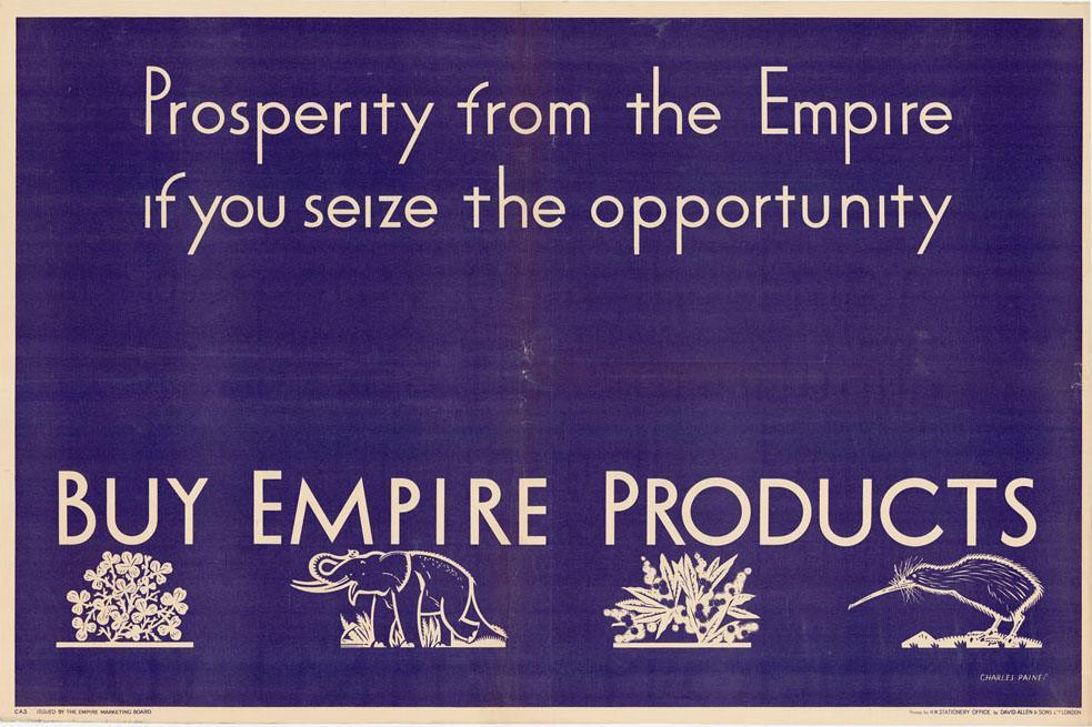 Prosperity from the Empire c.1930.