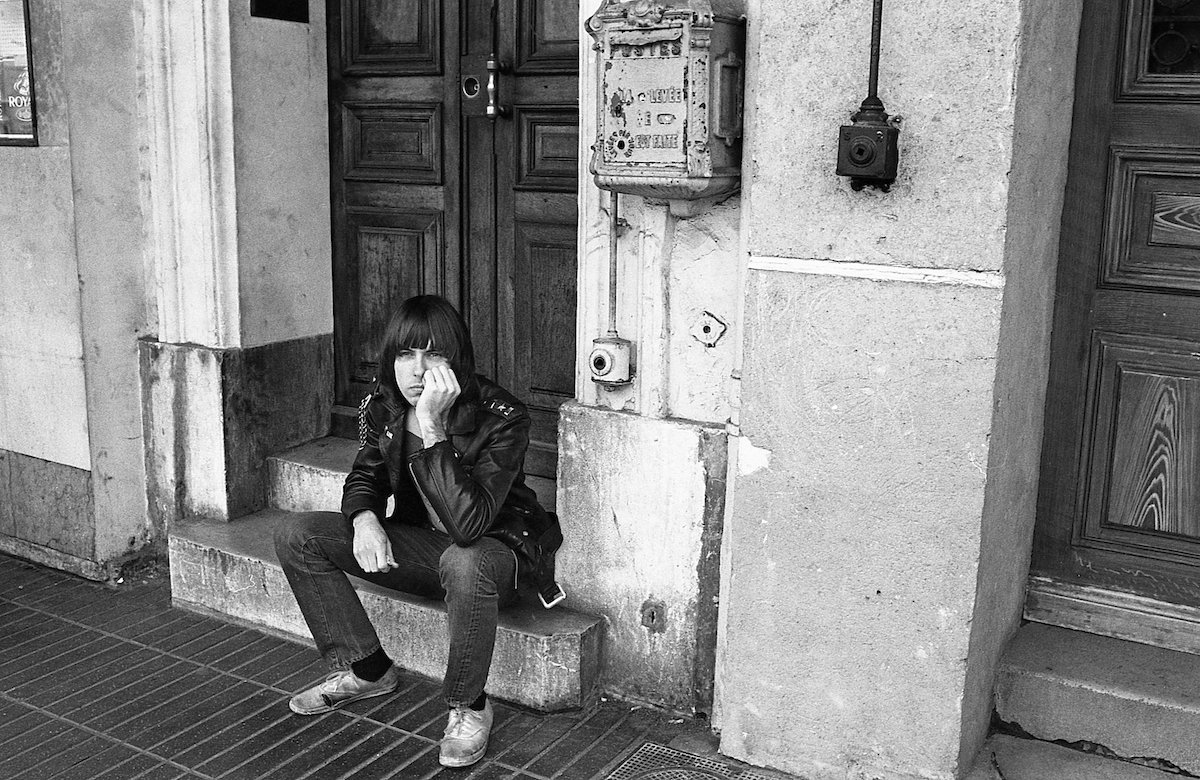 Ramones in France 1976 Danny Fields copy
