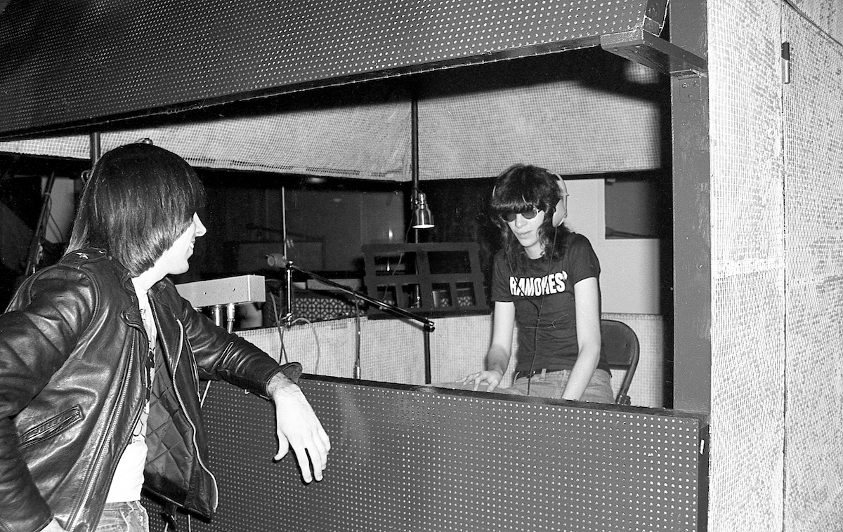 Ramones recording first LP 1976 Danny Fields