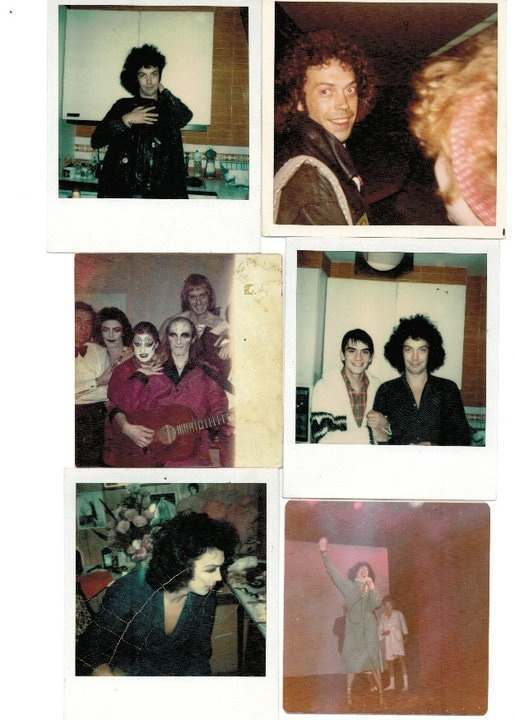 Found Photos: Rocky Horror Show Behind The Scenes Polaroids