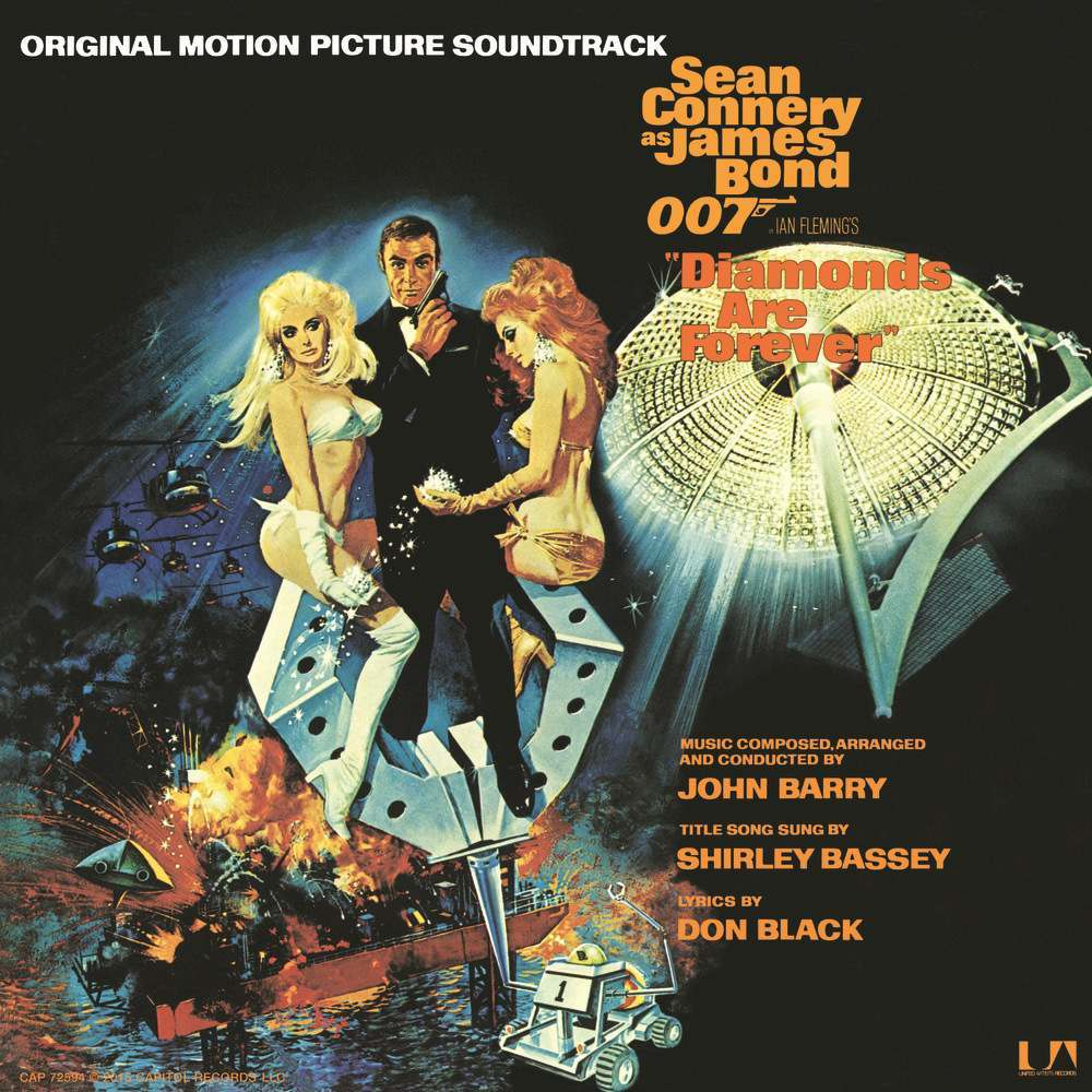 The Original Motion Picture Soundtrack of Diamonds Are Forever.