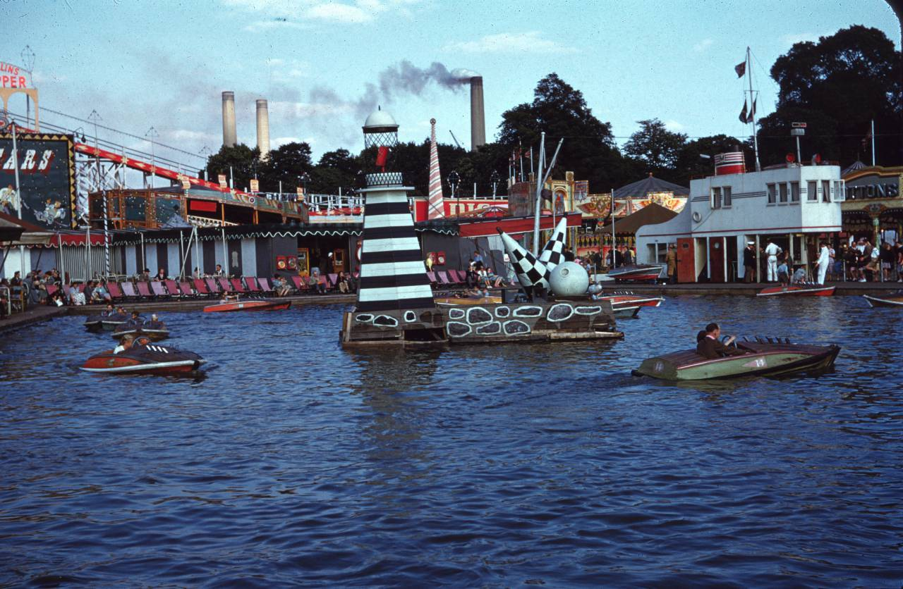 The Boating Lake Battersea Festival of Britain 1953 Vern Orton
