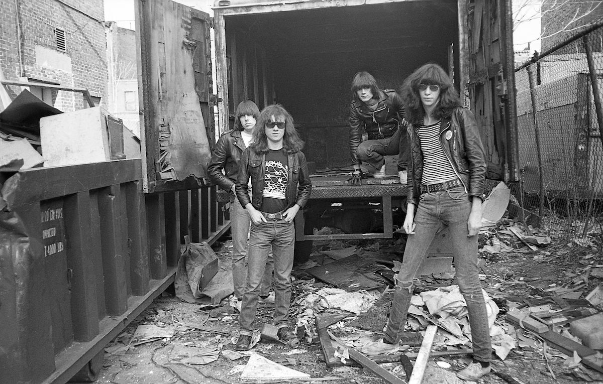 Village Walk Ramones 1976 Danny Fields copy