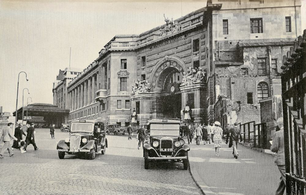 Waterloo Station Approach 1947 copy