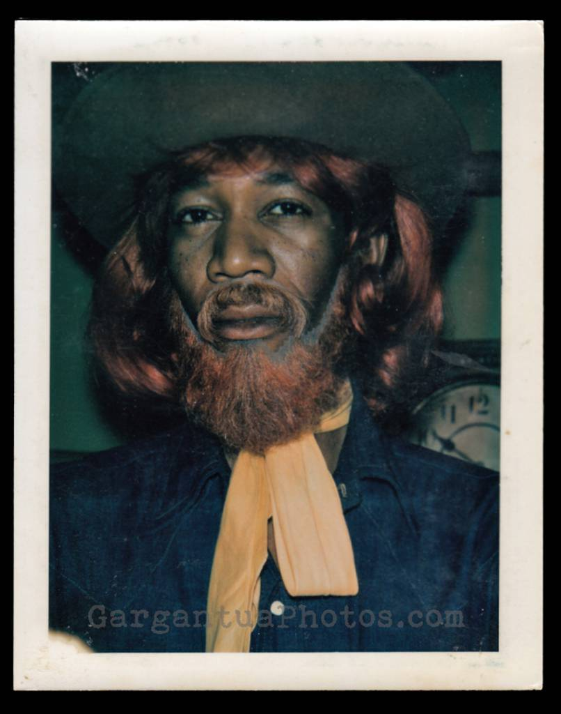 Morgan Freeman makeup continuity Polaroids from PBS' Electric Company.