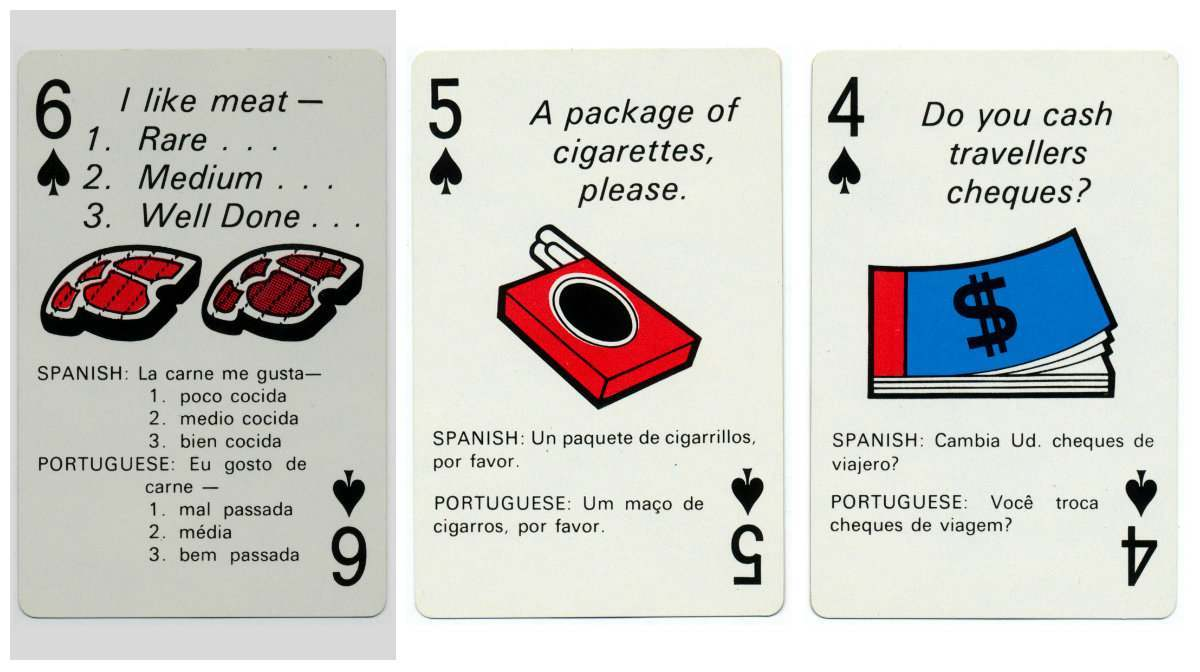 braniff playing cards 16